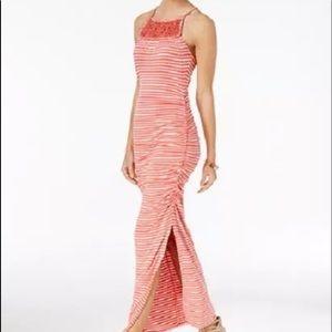NWT JESSICA SIMPSON Tessanne Stripe Maxi Dress S